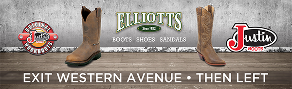 Elliots Boots Billboard Design