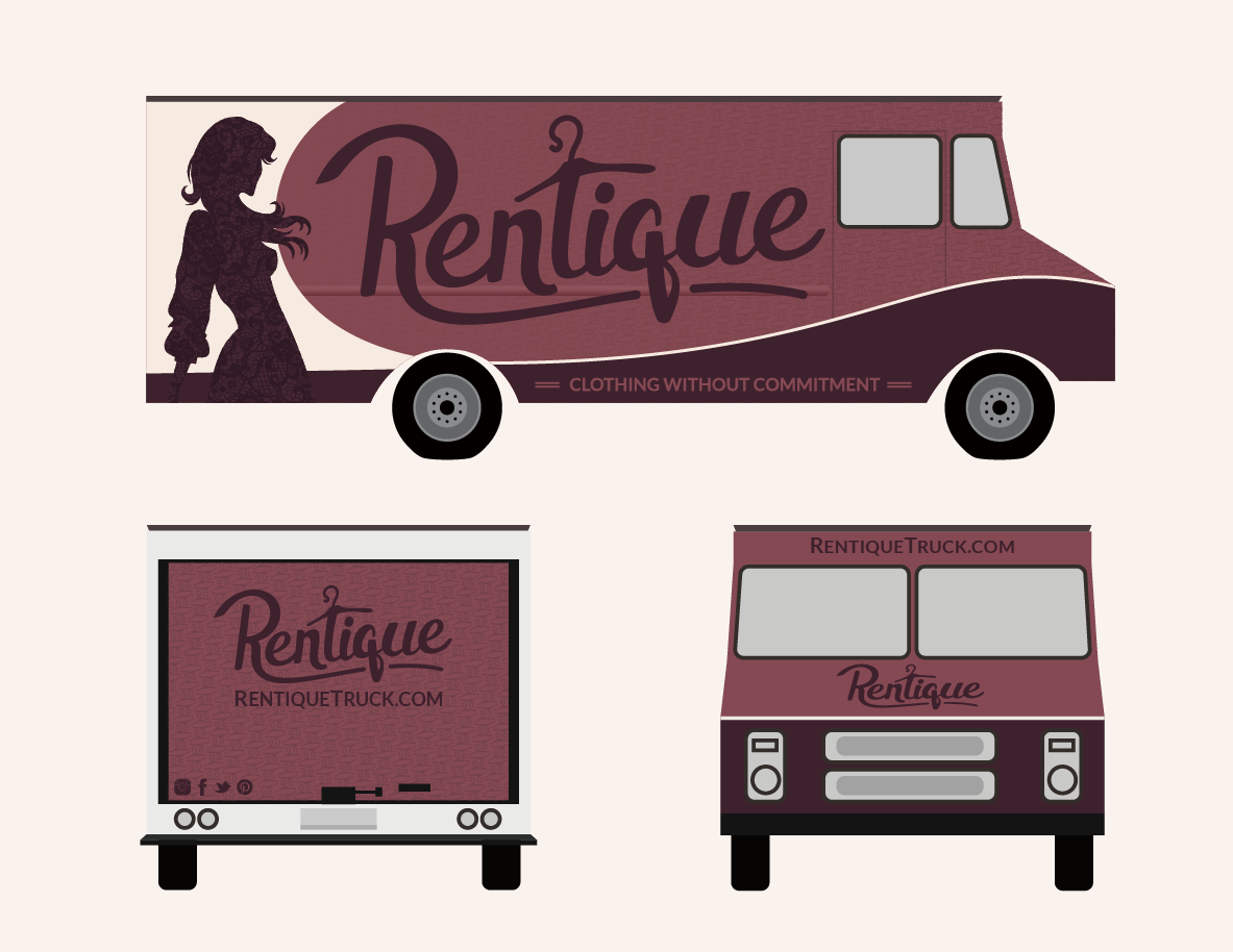 Rentique Fashion Truck Design