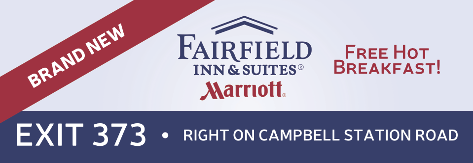 Billboard design for Fairfield Inn and Suites
